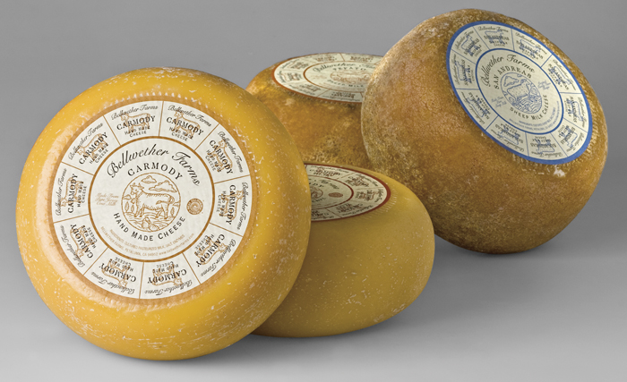 Bellwether Farms Cheese Wheels